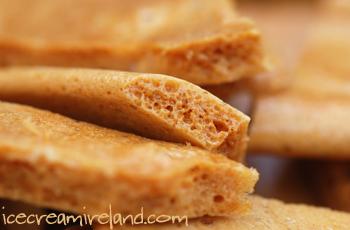 Honeycomb crunchy caramel