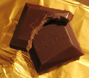 Valrhona squares 