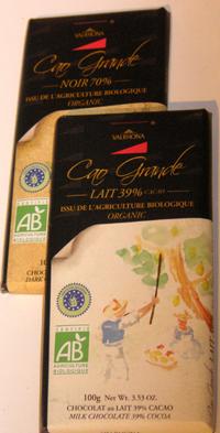 Valrhona Organic Chocolate