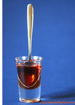 Caramel sauce fructose