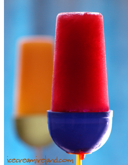Juice lollies