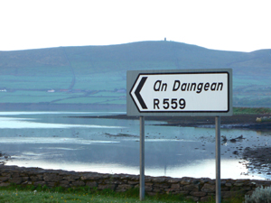 An Daingean Sign