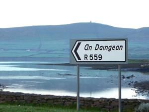 An Daingean Sign