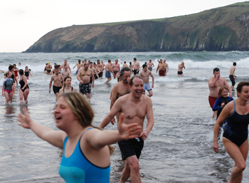 Christmas Swim in Dingle