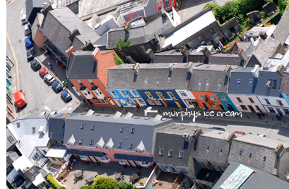 Strand Street from above
