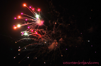 Fireworks in Dingle