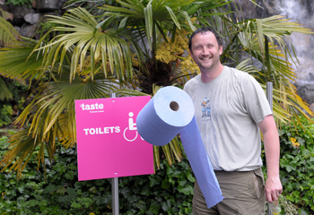 Taste toilets