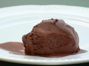 Chocolate Sorbet Plate