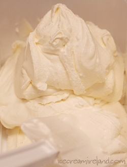 Coconut Rum Ice Cream