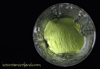 Green Pea and Mint Ice Cream