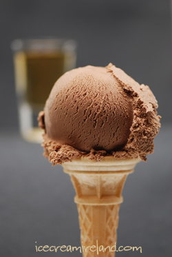 Chocolate Whiskey Ice Cream