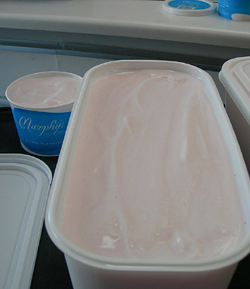 Pink Champagne Ice Cream