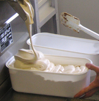 Pulling Ice Cream