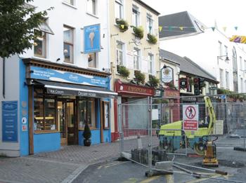Construction in Killarney