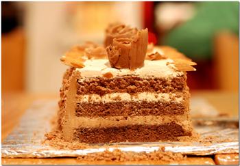 Riadh's almond cake
