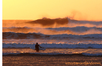 Surfer, Inch Strand, Kerry