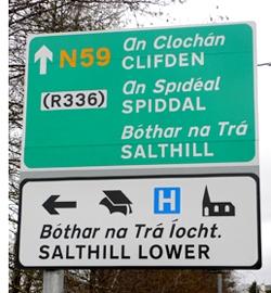 Sign Spiddal