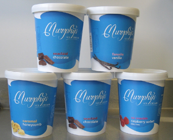 Murphys Ice Cream New Tubs