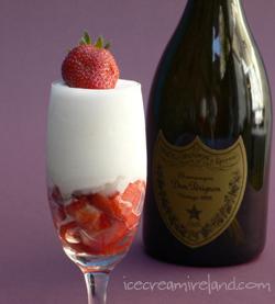 Champagne Sorbet – Ice Cream Ireland