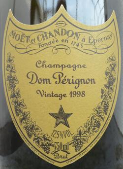 Dom Perignon Label
