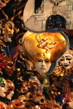 Masks in a Venice Shop