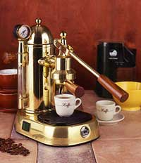 pull espresso